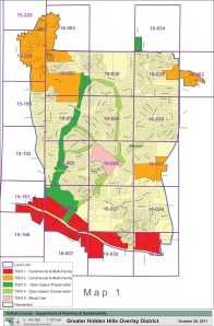 Greater Hidden Hills  Overlay Zone