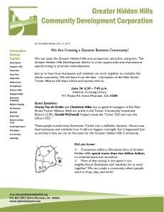 June 24 - Creating Great Businesses
