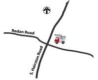 Redan-Hairston Map
