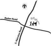 Redan-Hairston Map-band icon
