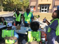 GHHCDC volunteers made and served lunch to all