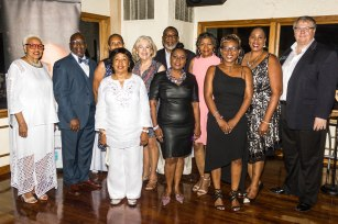 The GHHCDC Board and elected officials.